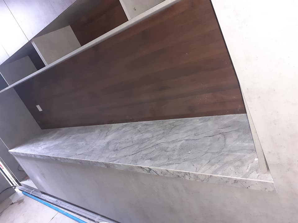 đá cẩm thạch ốp bếp