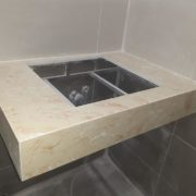 đá ốp lavabo