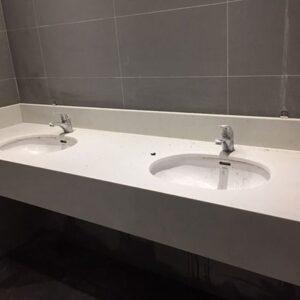 Ốp lavabo cho khu nhà vệ sinh trường học – mã số 11