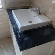 Đá granite kim sa trung ốp lavabo – mã số 15