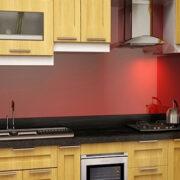 Những mẫu bàn bếp ốp đá granite kim sa trung đẹp