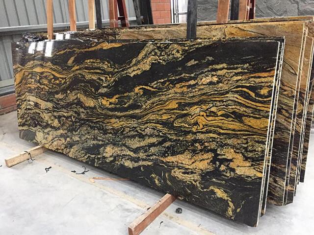 đá magma gold ốp bàn bếp